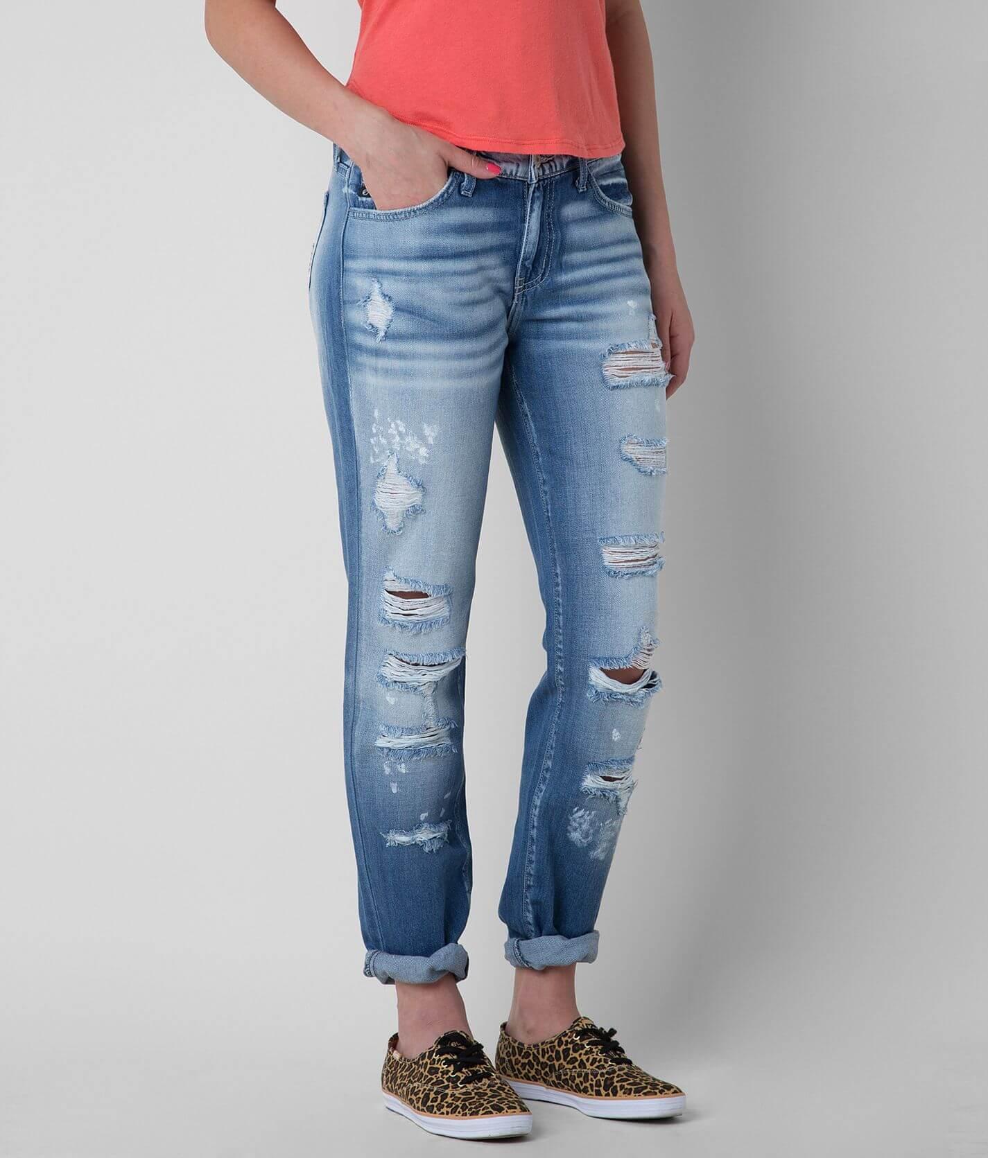 Kancan Mid Rise Boyfriend Jean Women S Jeans In Victoria Buckle