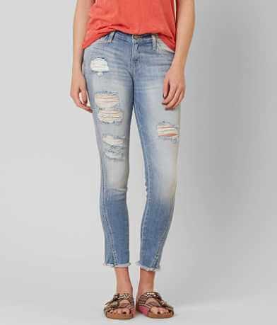 KanCan Skinny Stretch Cropped Jean