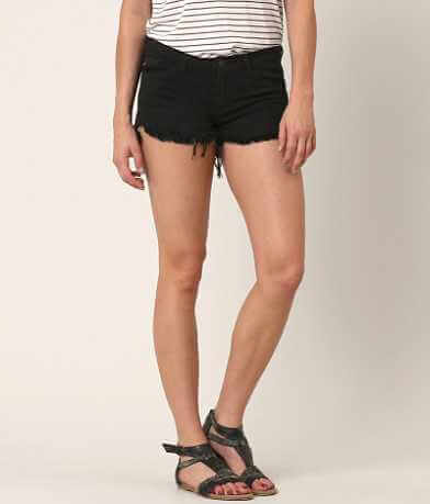 KanCan Low Rise Frayed Stretch Short