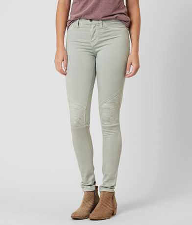 KanCan Mid-Rise Moto Skinny Stretch Jean