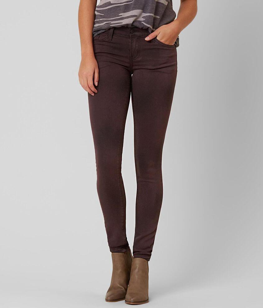 Kancan Low Rise Skinny Stretch Jean Women S Jeans In Sparrow Spray Buckle