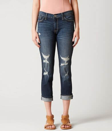 KanCan Mid-Rise Skinny Stretch Cropped Jean