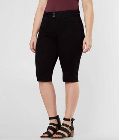 KanCan Kurvy Ultra High Rise Bermuda Stretch Short