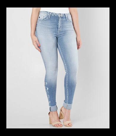 KanCan Kurvy High Rise Ankle Skinny Stretch Jean