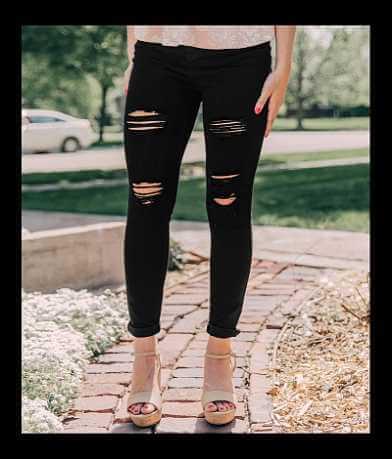 KanCan Kurvy High Rise Ankle Skinny Stretch Jean
