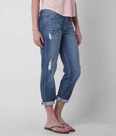 KanCan Mid-Rise Boyfriend Cropped Jean