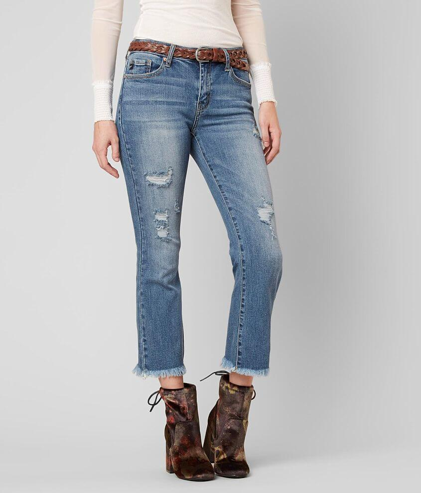 KanCan Mid-Rise Boot Stretch Jean front view