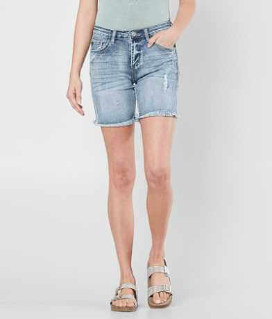 KanCan Mid-Rise Stretch Short