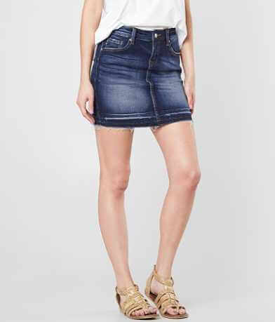 KanCan Denim Stretch Mini Skirt