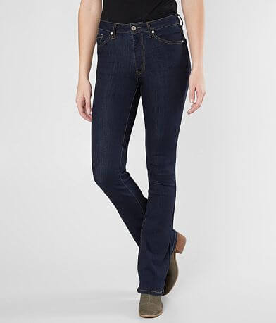 KanCan Mid-Rise Mini Flare Stretch Jean