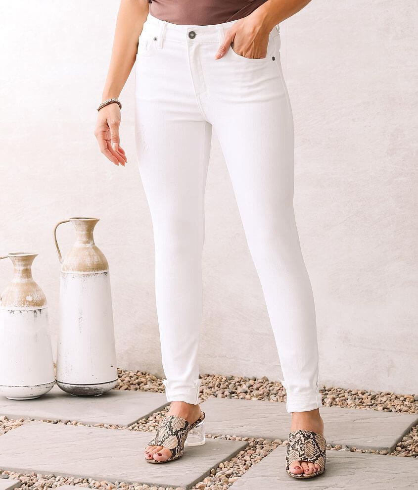 KanCan High Rise Super Skinny Stretch Jean front view