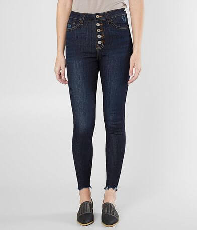 KanCan Ultra High Rise Ankle Skinny Stretch Jean
