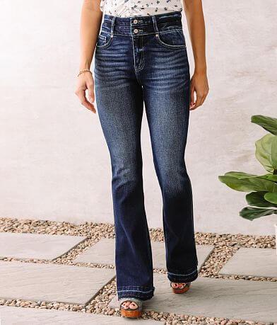 KanCan High Rise Curvy Flare Stretch Jean