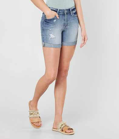 KanCan Mid-Rise Stretch Cuffed Short
