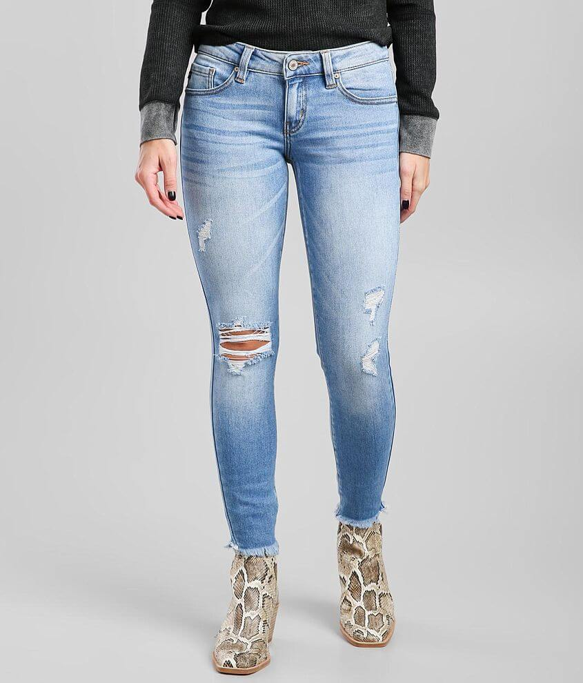 KanCan Low Rise Ankle Skinny Stretch Jean front view