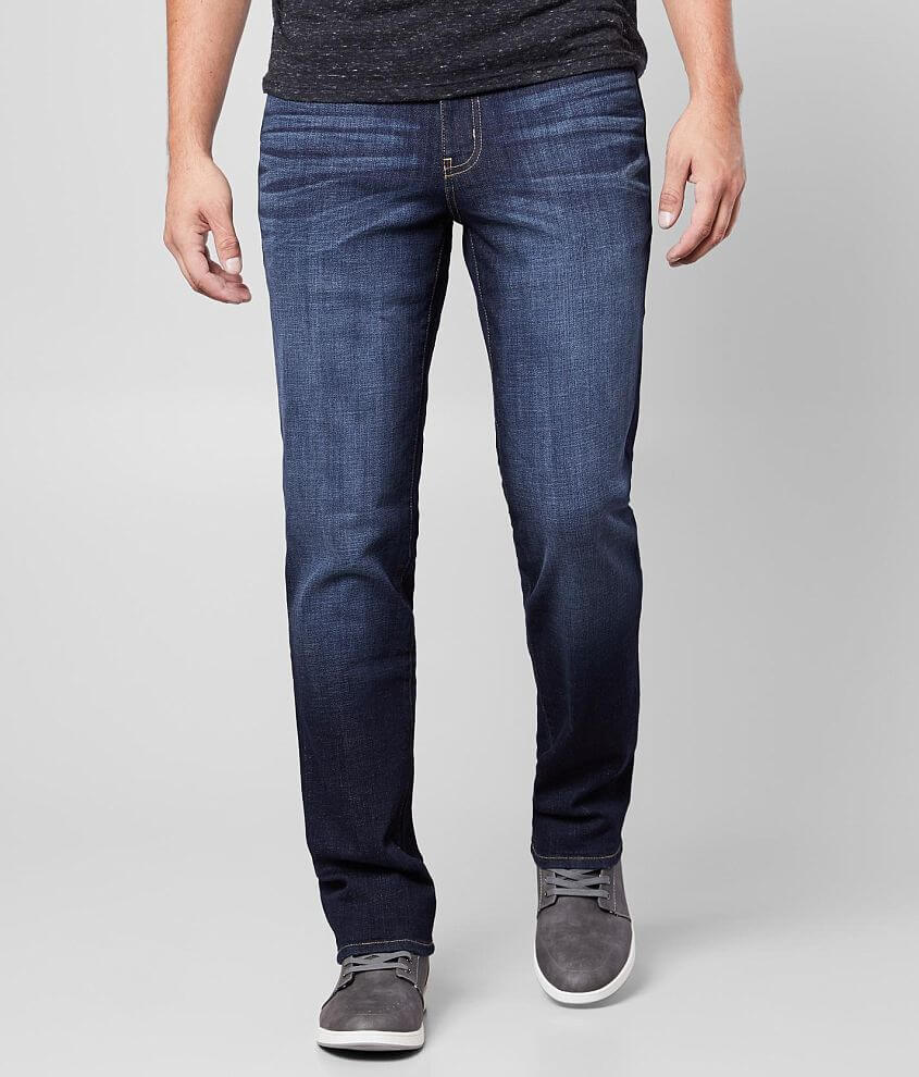 KC Signature Slim Straight Stretch Jean front view