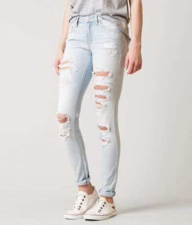 KanCan Mid-Rise Skinny Stretch Jean