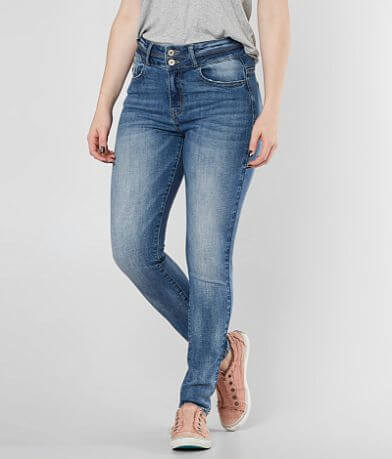 KanCan Kurvy Ultra High Ankle Skinny Stretch Jean