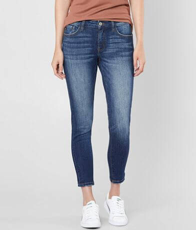 KanCan Mid-Rise Ankle Skinny Stretch Jean