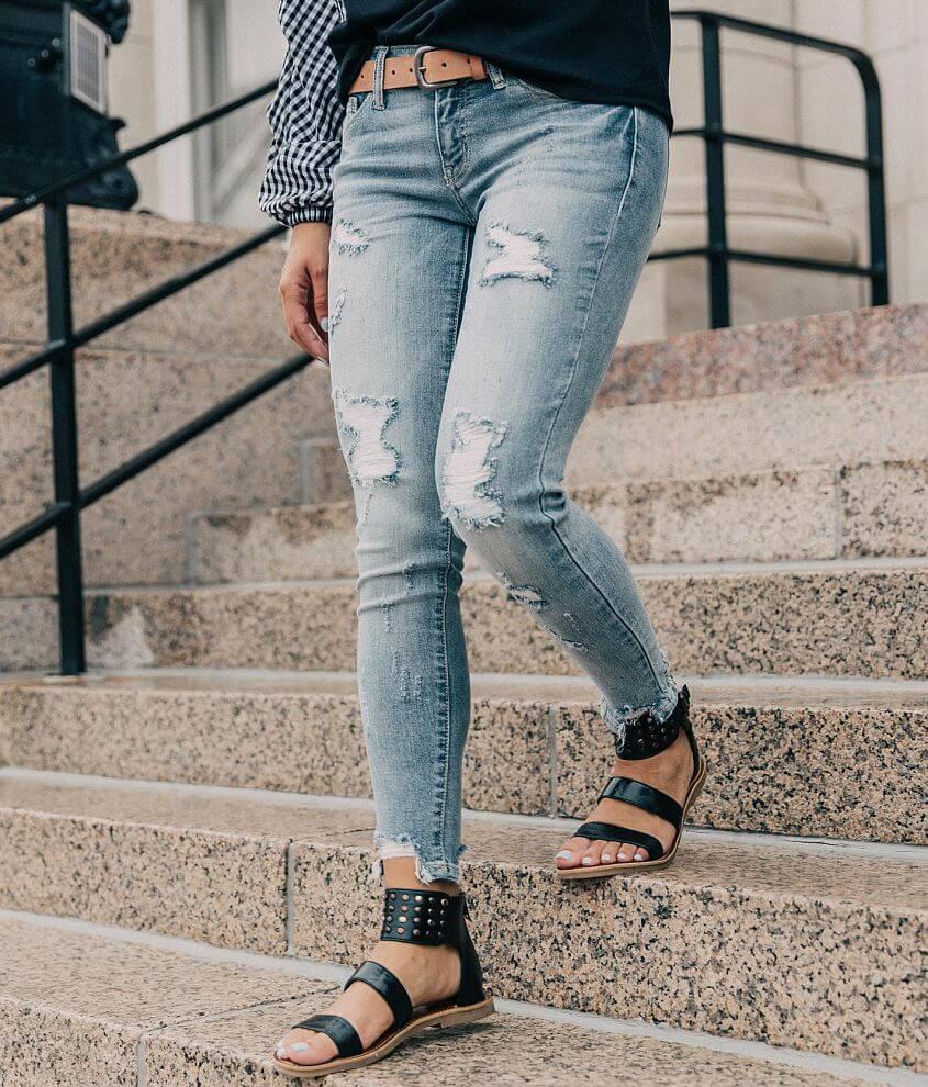 817faf456ce KanCan Low Rise Ankle Skinny Stretch Jean - Women's Jeans in Allison ...