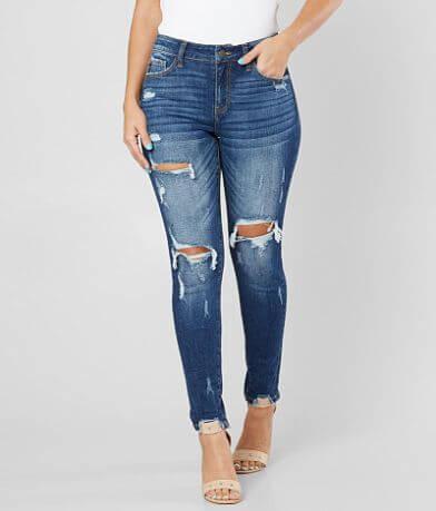 KanCan Kurvy Mid-Rise Skinny Stretch Jean
