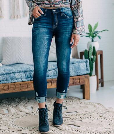 KanCan Signature Mid-Rise Ankle Skinny Jean