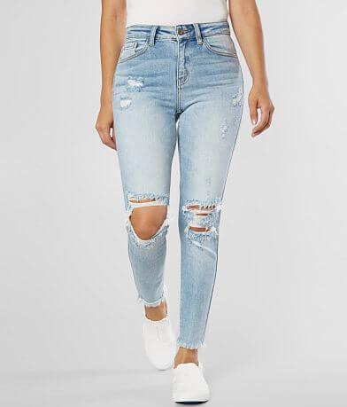 eccd89ff5fdf88 KanCan Signature Kurvy Mid-Rise Skinny Jean