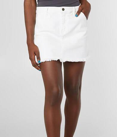 KanCan Signature High Rise Denim Stretch Skirt