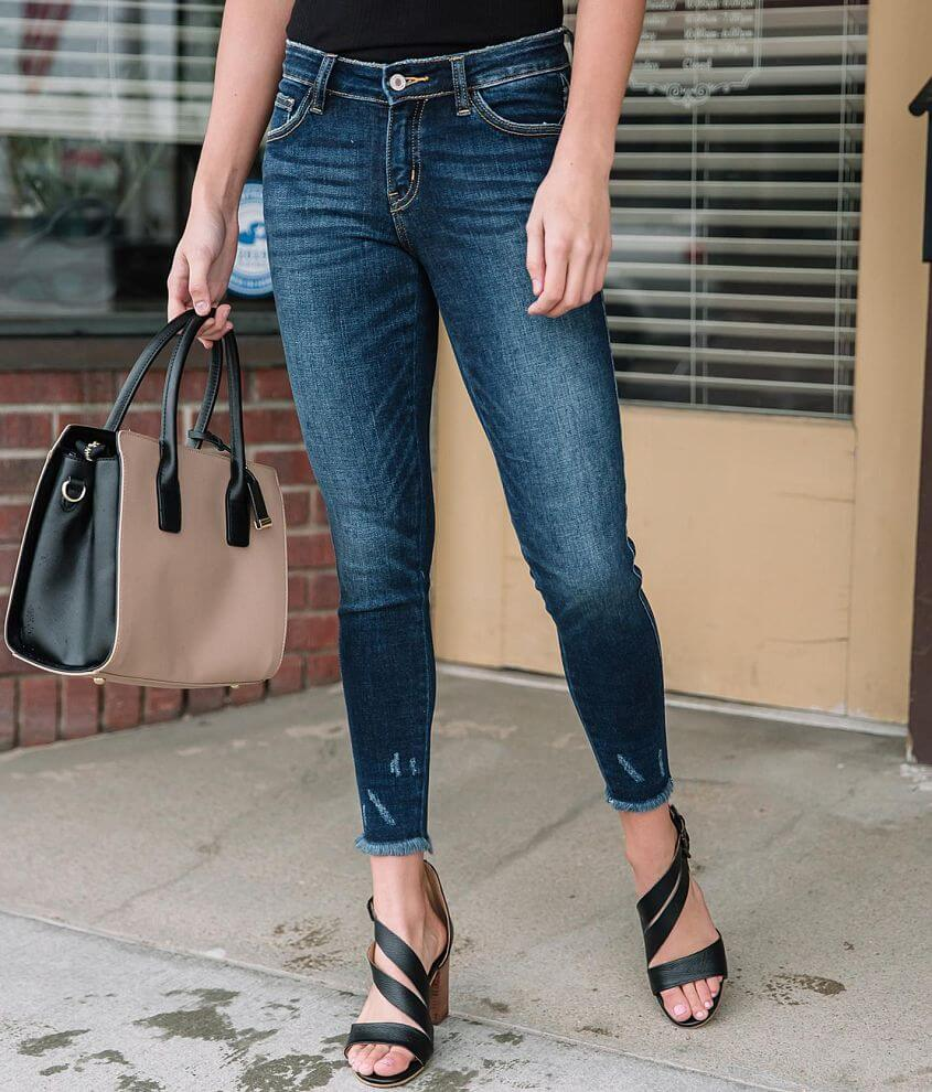 KanCan Signature Low Rise Ankle Skinny Jean front view