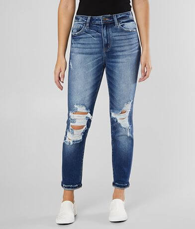 KanCan Signature Mom Fit Stretch Jean