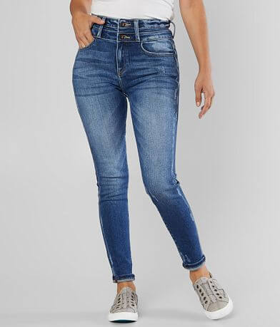 KanCan Signature Kurvy Ultra High Rise Ankle Jean