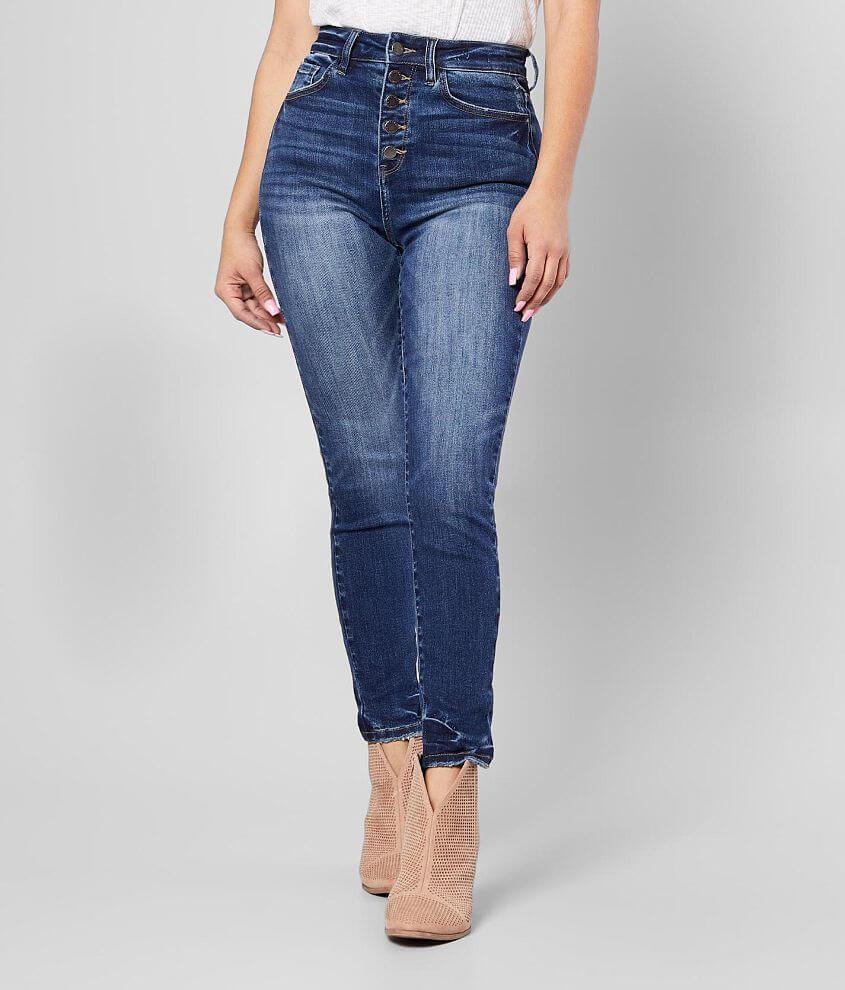 KanCan Signature Kurvy Ultra High Rise Skinny Jean front view