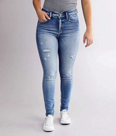 KanCan Signature Kurvy Ultra High Ankle Jean