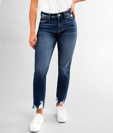 KanCan Signature High Rise Mom Fit Jean