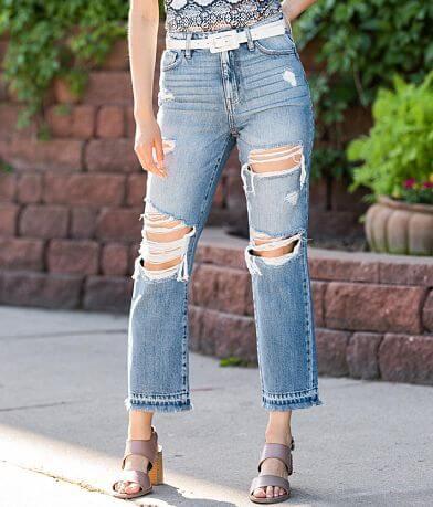 KanCan Signature Ultra High Rise Straight Jean