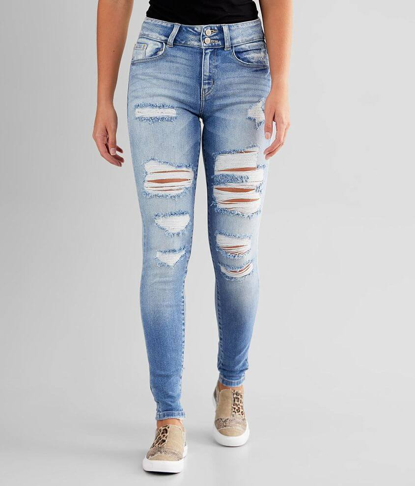KanCan Signature High Rise Skinny Stretch Jean front view