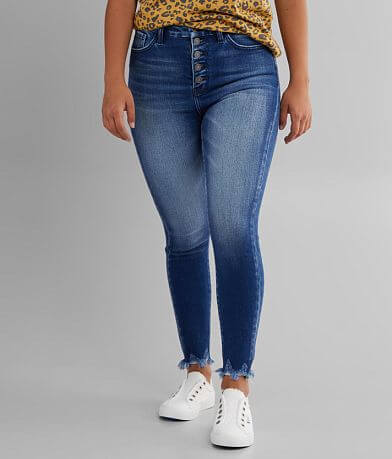 KanCan Signature Ultra High Ankle Skinny Jean