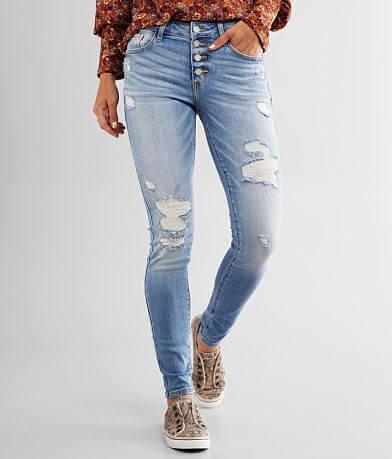 KanCan Signature Mid-Rise Skinny Stretch Jean
