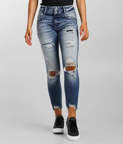 KanCan Signature Mid-Rise Ankle Skinny Jean