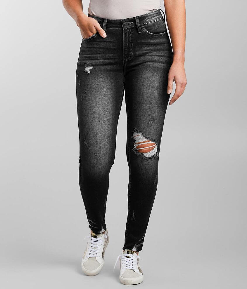 KanCan Signature Kurvy Mid-Rise Ankle Stretch Jean front view