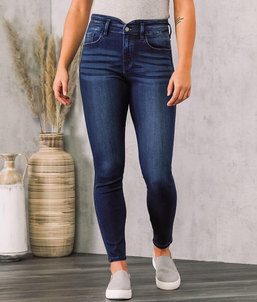 KanCan Signature Kurvy Ultra High Skinny Jean front view
