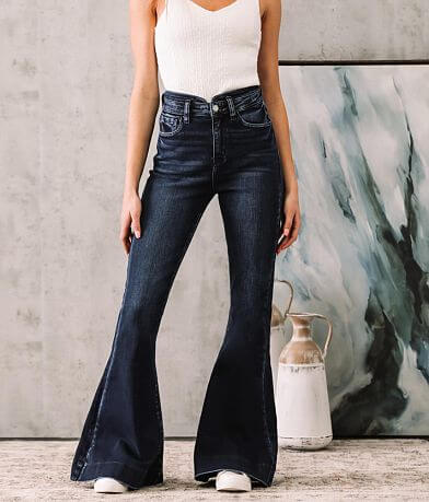 KanCan Signature Skye High Super Flare Jean
