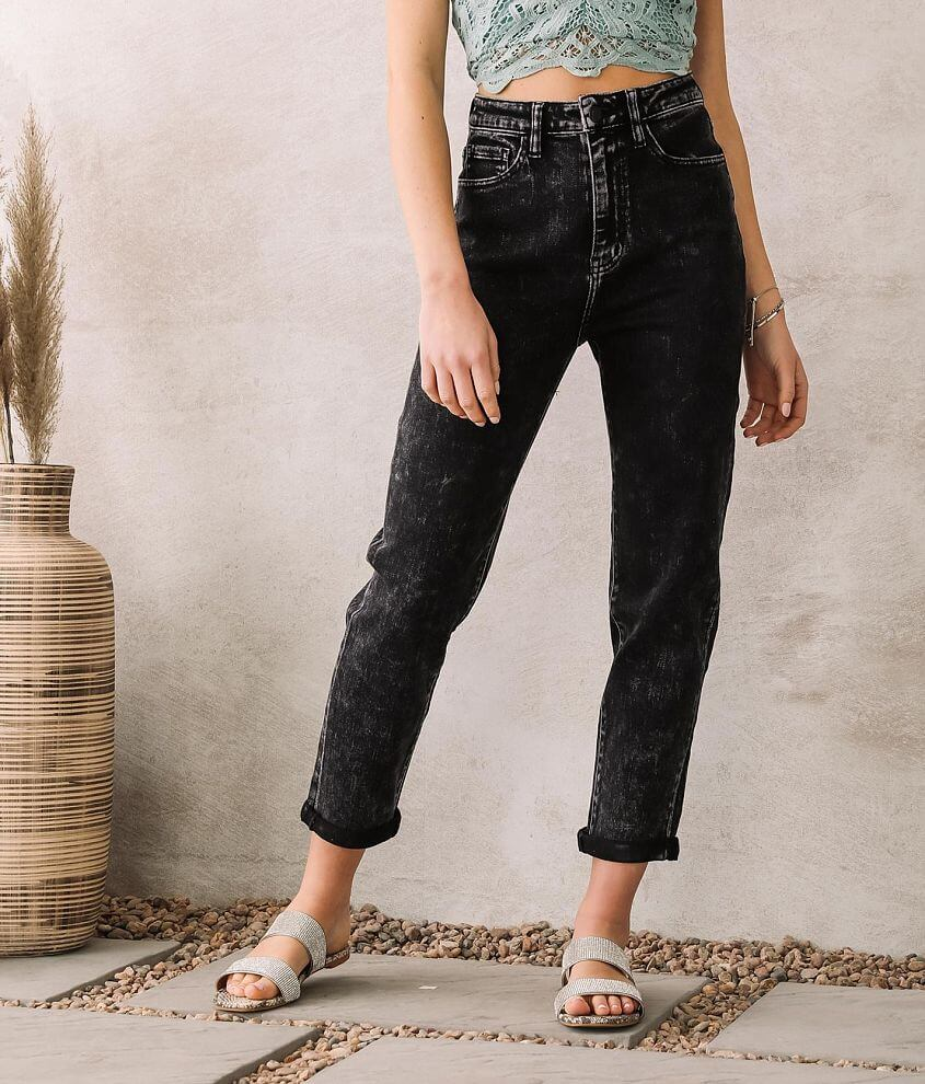 KanCan Signature Ultra High Baggy Fit Jean front view