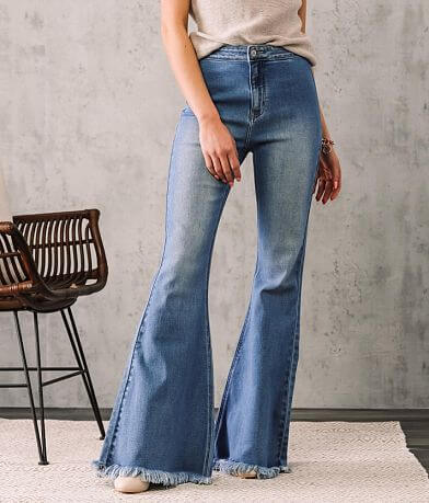 KanCan Signature Ultra High Extreme Flare Jean