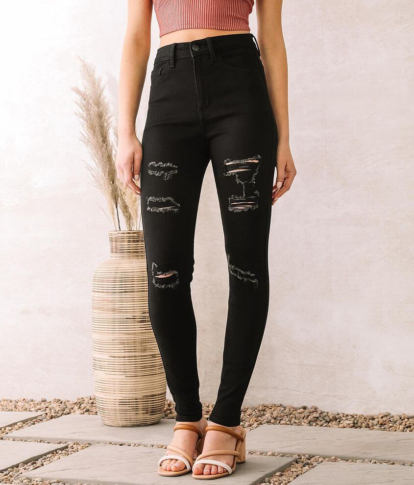 KanCan Signature Ultra High Rise Skinny Jean front view