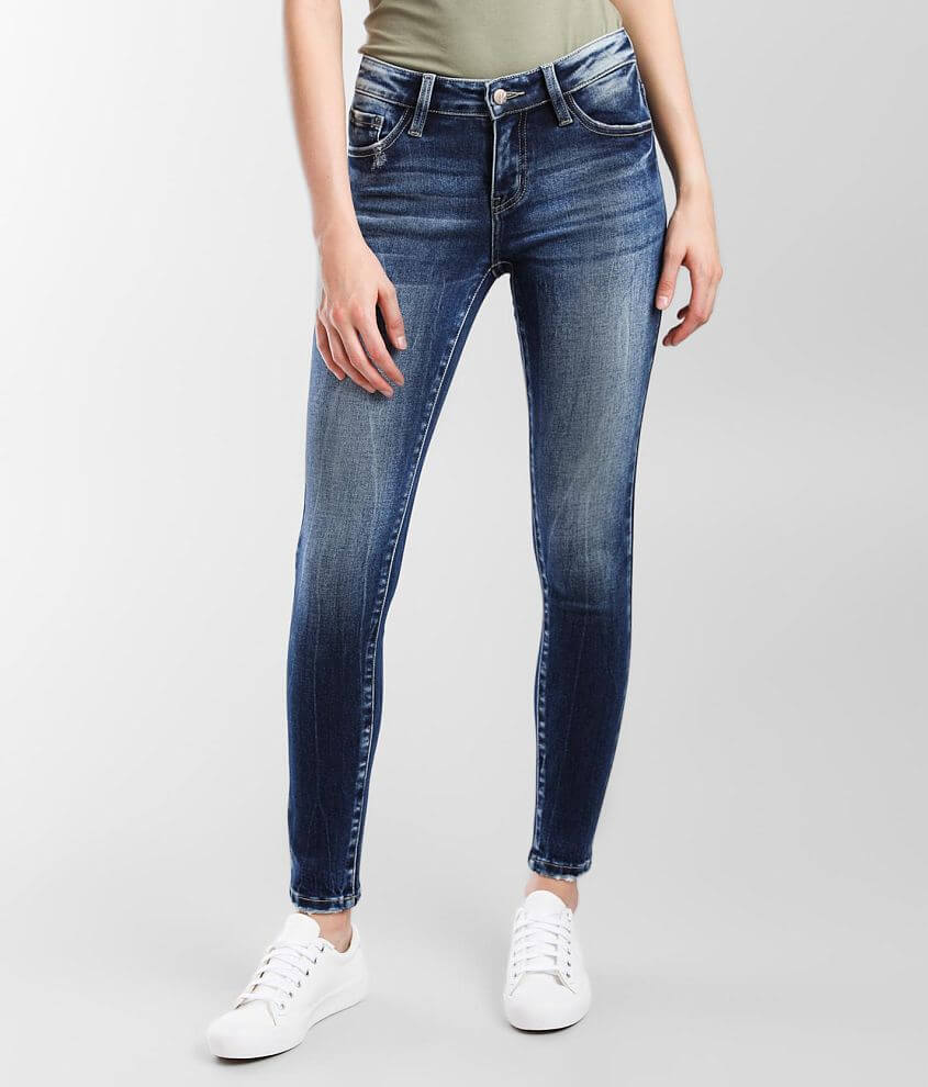 KanCan Signature Low Rise Skinny Stretch Jean front view