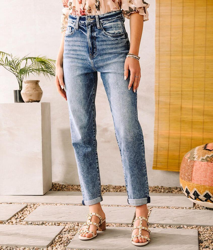 KanCan Signature Baggy Fit Stretch Jean front view