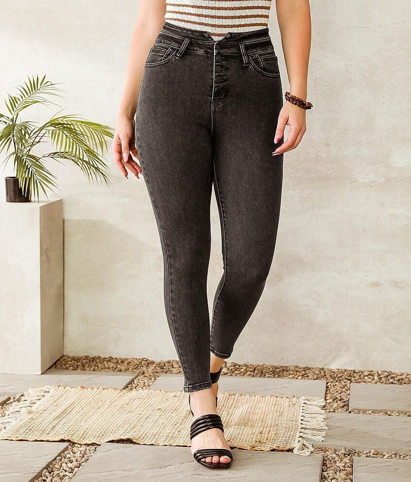 KanCan Signature Kurvy Ultra High Ankle Jean front view