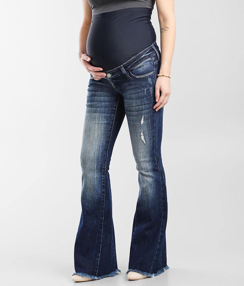 KanCan Signature Maternity Flare Stretch Jean