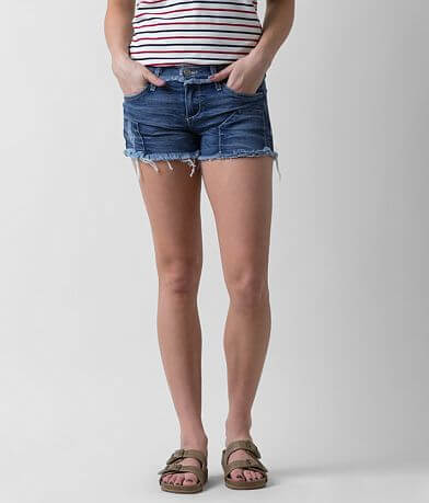 Gilded Intent Frayed Stretch Short
